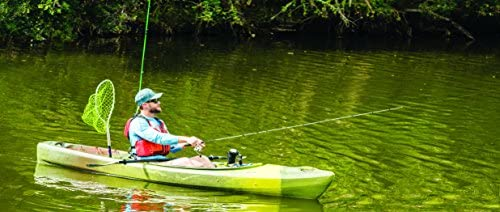Perception Sound 9.5 9 6 Two Rod Holders Sit Inside Kayak for Fishing and Fun Large Rear Storage