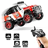 RC Cars, Abask BG1511D 2.4GHz 4x4 40+KM/H 1/22 Remote Radio Control Cars High Speed Off-road Racing High-Performance Trucks Waterproof Shockproof Electronics Best Gift For Children Truck Lovers(red) …