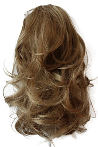 """PRETTYSHOP 14""""Hair Piece Ponytail Extension Straight Light Curled Nature Looking Heat-Resisting Different Colors (dirty blonde H102)"""