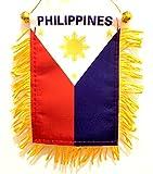Cheap Pinoy flag Designs PHILIPPINES car flag