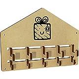 Azeeda 'Wrapped Gift' Wall Mounted Coat Hooks / Rack (WH00029024)