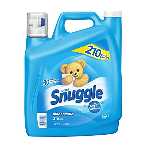 Snuggle Blue Sparkle Fabric Softener (210 Loads, 168 oz.) (2-Pack)