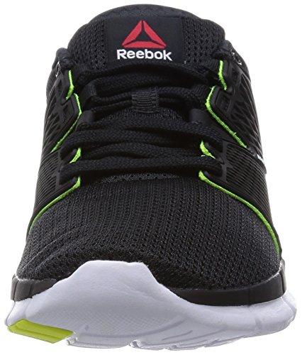 Reebok Zquick Dash - Zapatillas Mujer Negro (black/solar yellow/white-gp)