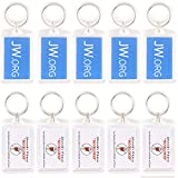 Rectangle Jw.org No Blood Double Sided Key Chain
