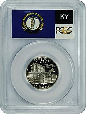 2001 S Kentucky Statehood Kentucky Statehood Quarter DCAM PCGS PR-70