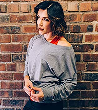 Abby Womens Lounge Bateau Neck Pullover Alex