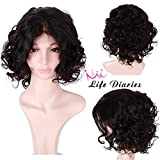 Life Diaries 150%Density Short Bob Wave Glueless Full Lace Wigs 8A Unprocessed Brazilian Virgin Human Hair Full Lace Front Wig For Women (10