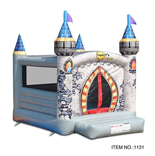 Bouncy Castle - Inflatable Medieval Castle Style - Happy Hop