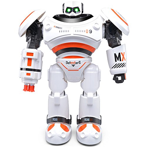 RC Remote Control Robot, JJRC Funny Intelligent Programming Shoot Music Dance Arm-swing Humanoid Robots Kit Toys Gift Present For Kids Preschooler Entertainment,by ECLEAR - (Left Eye Halloween Costume Ideas)
