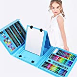 NEWELLYY 176-Piece Art Set,Painting & Drawing Set, Draw Stencils 6-10 old Kids, for Boys & Girls