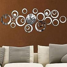 EverTrust(TM) New Acrylic Wall Clock Reloj De Pared Large Decorativestudy Classic Quartz Watch Horloge Murale 3d Stickers
