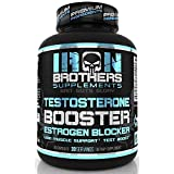 Testosterone Booster for Men with Estrogen Blocker - Anti Estrogen Dietary Supplements - Indole - 3 - Carbibole & Tribulus Terresttris - Pack of 60 caps - Boost Muscle Growth & Fat Loss (1 Bottle)