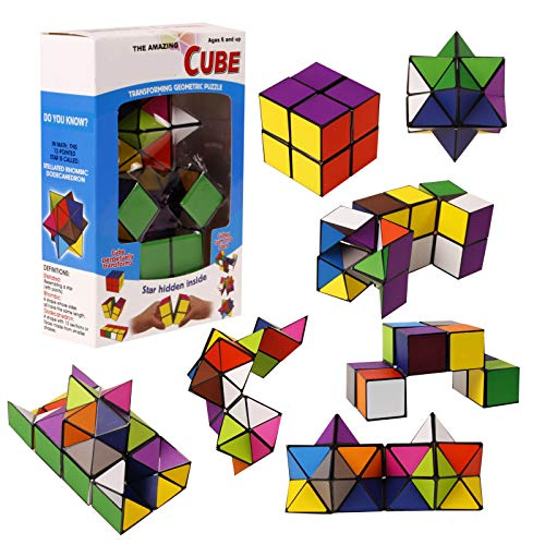 TYLife Puzzle Toy Speed Cube Set Toy Puzzles Cube for Kids and Adults ()