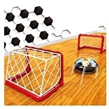 Hover Ball Air Power Soccer Disc Football Disk Hover Ball Soccer Gate Set LED Light and Foam Bumpers Training Football for Girls Boys Indoor Outdoor Sport Toys Birthday Gifts DIY by Yxaomite