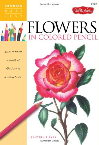 Flowers Colored Pencil variety vibrant product image