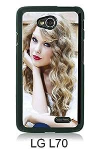 LG L70 case,Unique Design Taylor Swift Black cell phone case for LG L70
