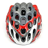 SainStyle Road Racing Cycling Bicycle Bike Helmet with Visor for Adult, Red