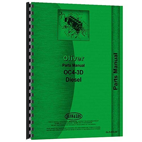 New Oliver OC-4 Crawler Parts Manual (OL-P-OC4-3D)