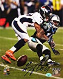 Denver Broncos Bradley Roby Signed Autographed 8x10 Photos: Super Bowl 50