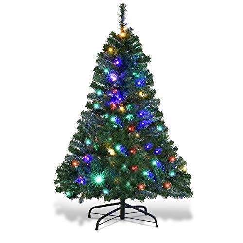 Automatic Christmas Tree: Amazon.com: Goplus 5FT Pre-Lit Artificial Christmas Tree