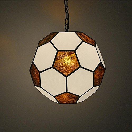 DMMSS 12 inch 16 inch Soccer Ball Pendant Lamp, Warm Light by DMMSS Pyjamas