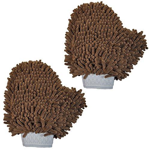 Versatile Microfiber Wash Mitt Glove product image