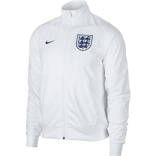 f93910c6a5 Amazon.com   NIKE 2018-2019 England Sportswear Mens Jacket (White)   Sports    Outdoors