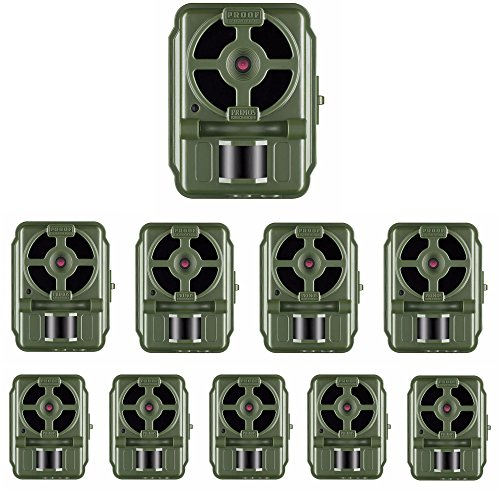 Primos 12MP Low Glow Proof Cam HD Trail Camera 64054 - 10-Pack