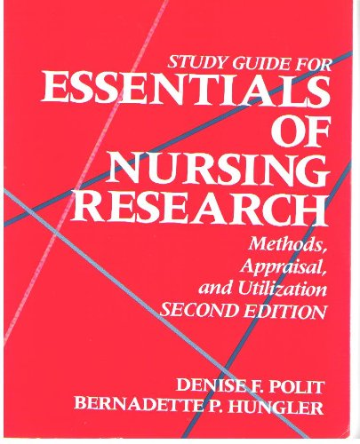 Essentials Of Nursing Research 8th Edition Pdf