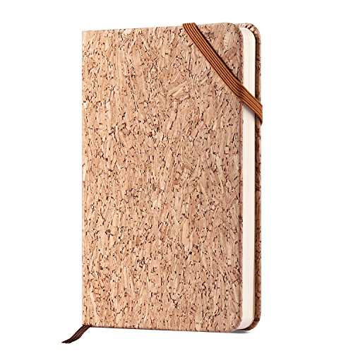 Mini Classic Pen (Artfan CLEARANCE SALE!!! Eco friendly Cork Small Pocket Notebook - A6 Mini Hadcover Classic Notebook, Plain, 3.5 x 5.5)