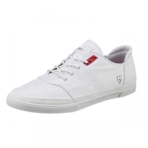 9b99af4edb401d Puma Bombato Ferrari SF Men s Trainers Canvas Shoes  Amazon.co.uk  Shoes    Bags