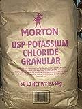 Potassium Chloride ''KCl'' FOOD GRADE (0-0-60) Minimum 99% purity! 50LB BAG!