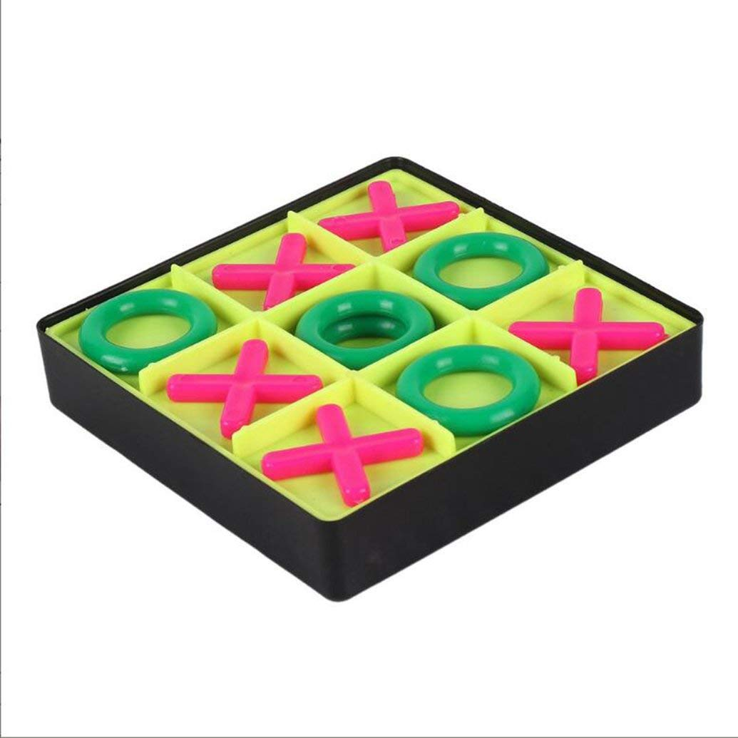 Celerest Parent-Child Interaction Leisure Board Game OX Chess Funny Developing Intelligent Educational Chess Games