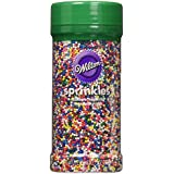 Wilton 710-4065 Rainbow Nonpareils Food Decorative, 7.5-Ounce