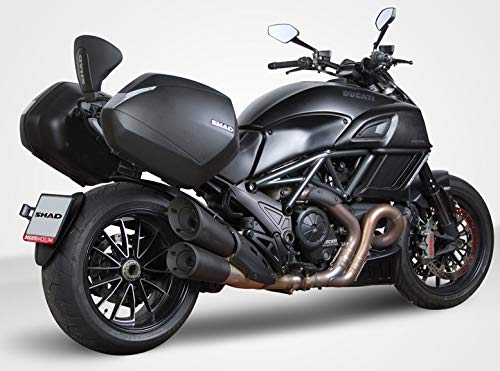 Shad D0B36D0DV14IF-IN Ducati Diavel 12-17 SH36 Cases, 3P Side Mount and Inner Bag by Shad
