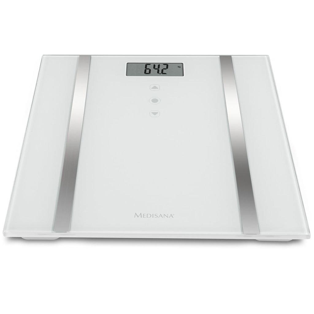 Medisana Báscula Analítica BS 483 180 Kg 30x30x2,1 cm Blanca Balanza Baño Peso: Amazon.es: Salud y cuidado personal
