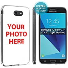 [Nakedshield] Custom Rugged Case For Galaxy J7 [2017] YOUR IMAGE HERE YOUR PICTURE HERE [0] Total Armor Rubber Gel Phone Case