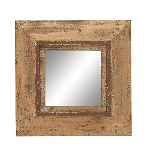 Cheap Deco 79 69268 Looking Glass Style Mirror with Old Look Square Frame