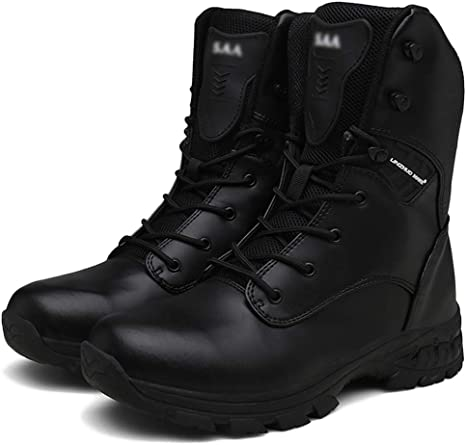 Mens Outdoor Tactical Boot Military Army Combat Patrol Work Boots Hunting Shoes