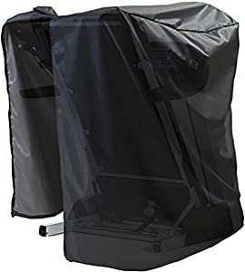 WOMACO Treadmill Cover, Waterproof Non-Folding Running Machine Protective Cover for Outside & Indoor Storage, Dust-Proof Sports Tread Mill Protective Cover
