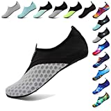 RaBia Unisex Barefoot Quick-Dry Water Sports Shoes for Run Dive Surf Swim Beach Yoga for Women Men