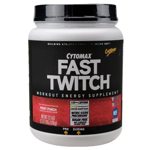 CytoSport Fast Twitch Power Workout Drink Mix