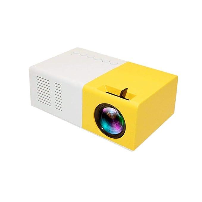 Moonuy Mini proyector 1080P Home Cinema, USB, HDMI, AV, SD, Mini ...