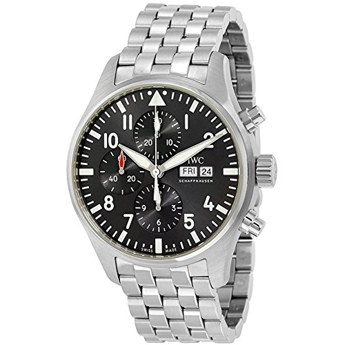 - IWC Pilot Spitfire Automatic Chronograph Dial Mens Watch IW377719