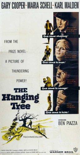 Gary Cooper Movie Poster - The Hanging Tree Poster Movie (20 x 40 Inches - 51cm x 102cm) Gary Cooper Maria Schell Karl Malden George C. Scott Karl Swenson