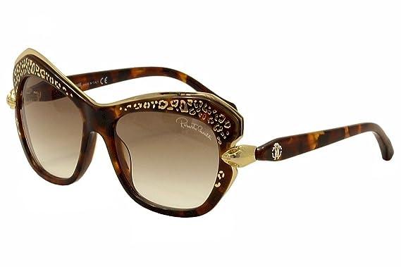7dd4487a75 Roberto Cavalli Women s Taygeta 981S 981 S 52F Havana Gold Sunglasses 56mm