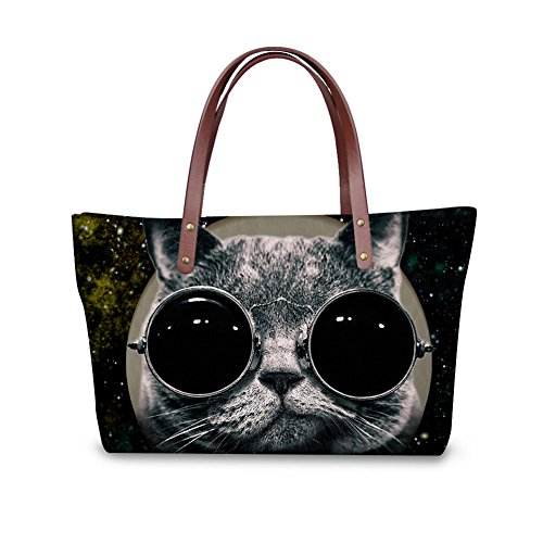 Women for Handbag Tote Ladies Handle Color Nopersonality Green Bulldog Casual 8 Cute zwqXfXxS