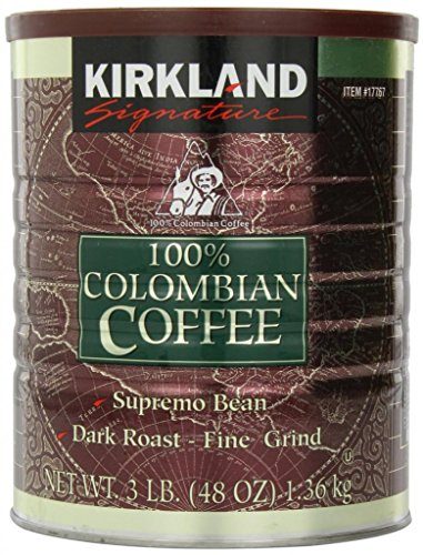 6 Pack Wholesale Lot Kirkland Signature 100% Columbian Coffee 48oz by SSW Wholesalers