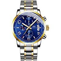 OLMECA Stainless Steel Chronograph Men's Wrist Watch