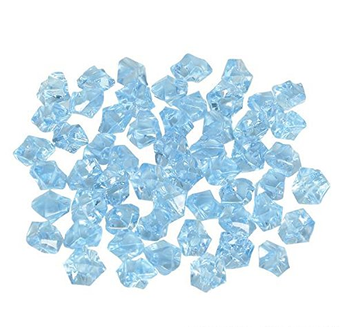 BLUE ACRYLIC ICE BULK, Case of 2 by DollarItemDirect